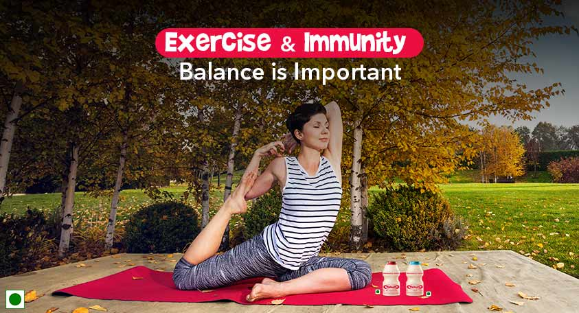 EXERCISE AND IMMUNITY – BALANCE IS IMPORTANT