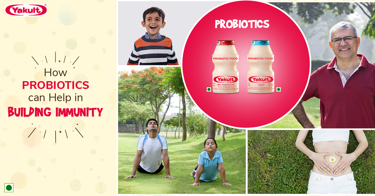 How Probiotics can Help in Building Immunity