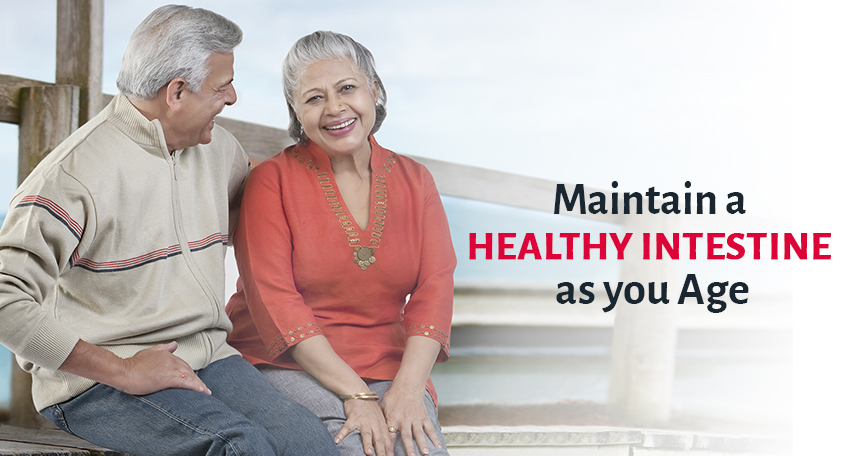 Maintain a Healthy Intestine as you age