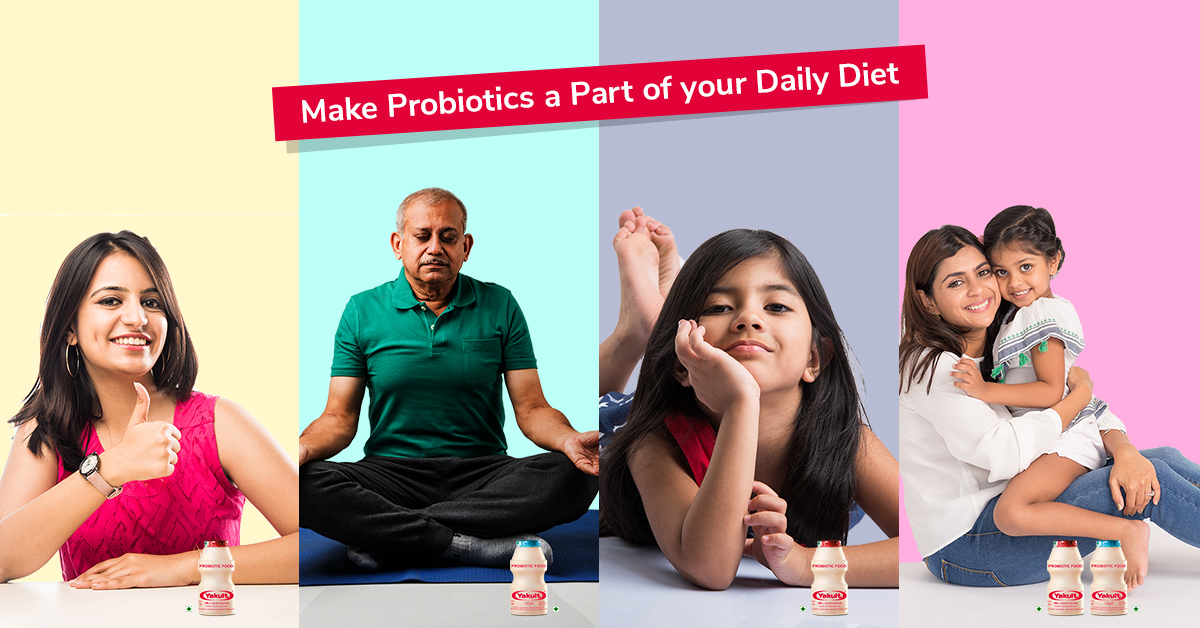 Make probiotics a part of your Daily Diet