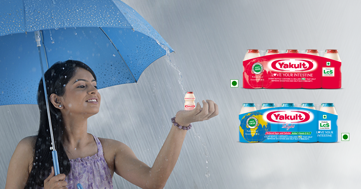 BE MONSOON READY WITH PROBIOTICS