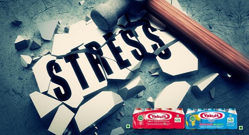 Probiotics Help to Reduce Stress Related Symptoms