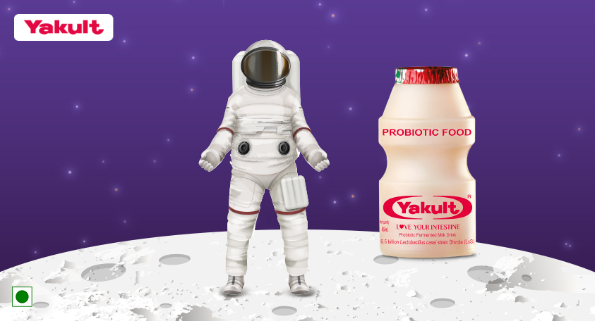 Yakult Goes to Space