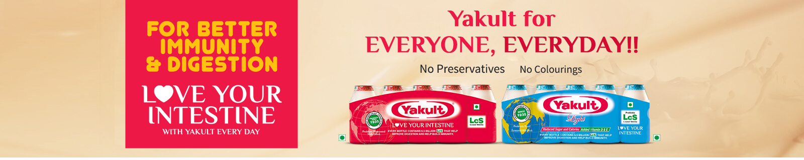 Yakult Probiotics Drinks Benefits