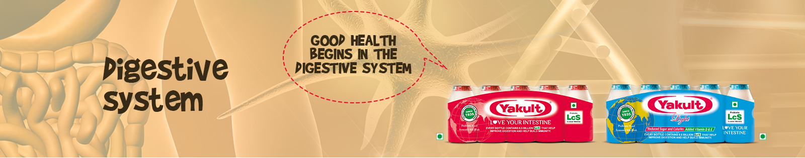 Health Drink For Healthy Digestive System Yakult India
